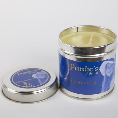 lily of the valley candle candles purdie s of argyll